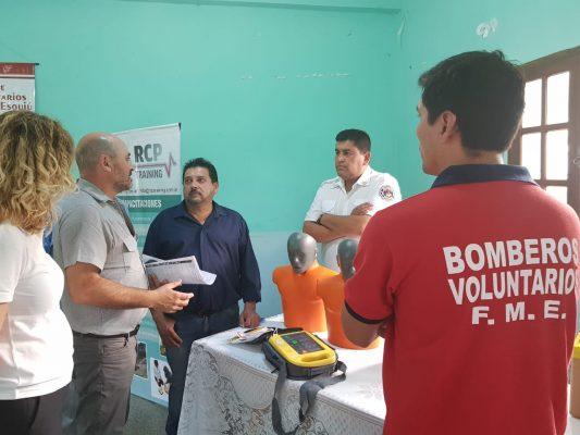 Fray Mamerto Esquiu Entrega Donación
